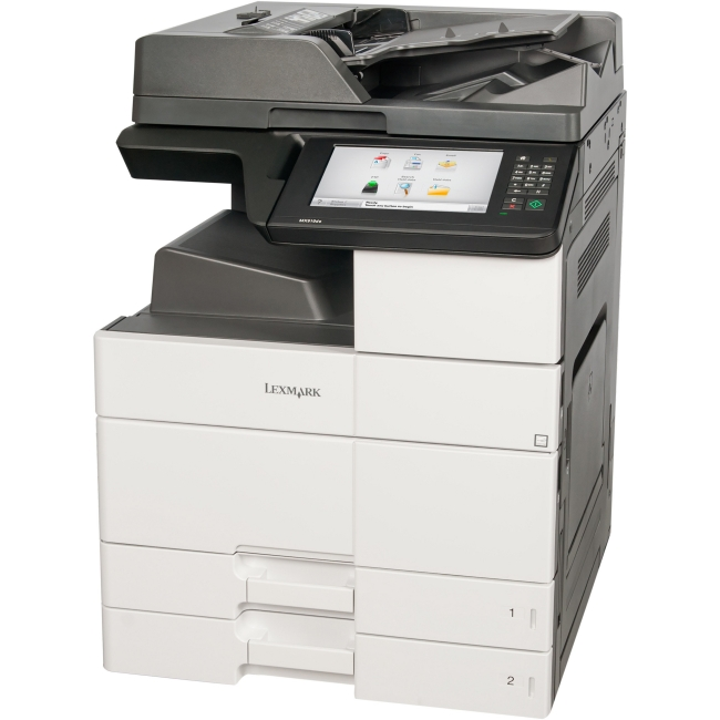 Lexmark Multifunction Laser Printer Government Compliant CAC Enabled 26ZT019 MX910DE