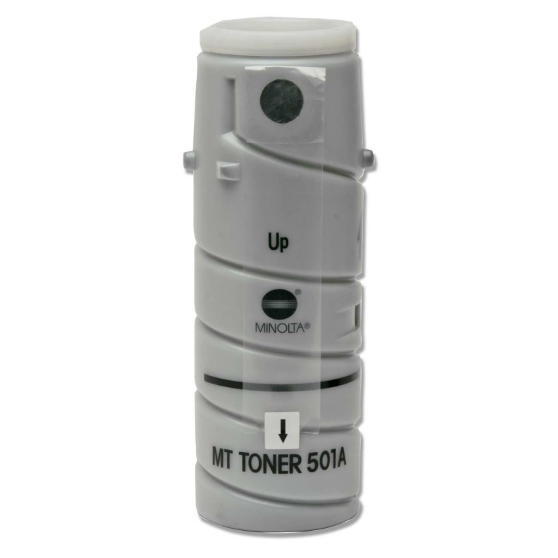Konica Minolta Black Toner Bottle 8935-502 KNM8935502 Type 501A