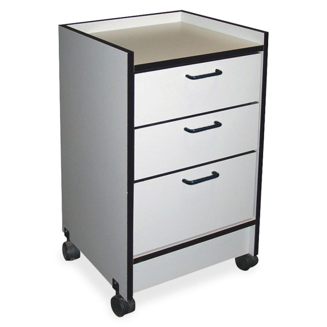 Hausmann 3-Drawer Mobile Cart 903820927 HNI903820927