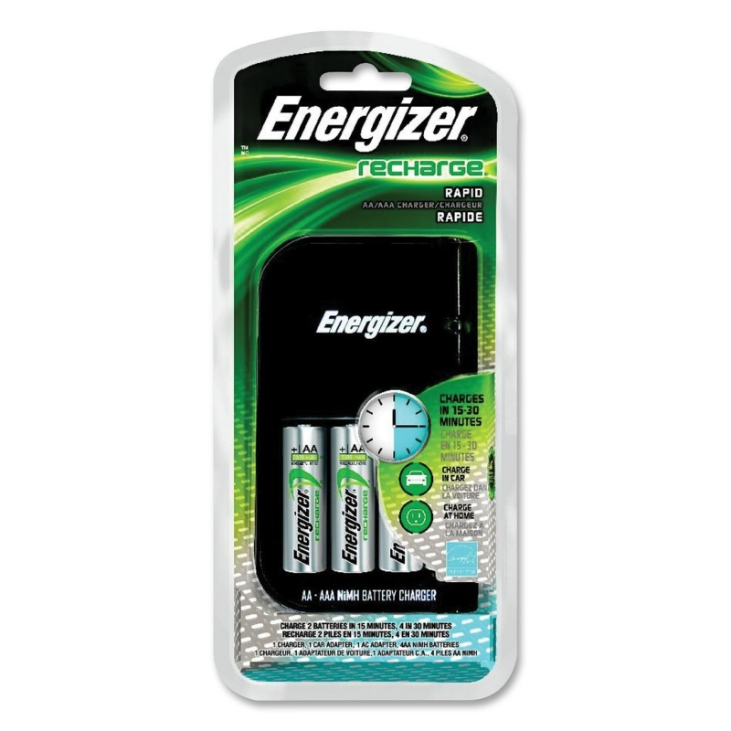 Energizer 15-Minute Charger CH15MNCP4 EVECH15MNCP4