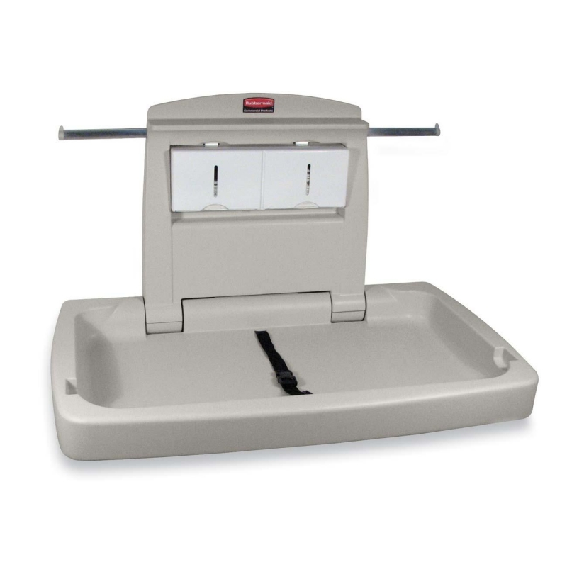 Rubbermaid Horizontal Changing Station with Adjustable Safety Belt 7818-88WE RCP781888WE