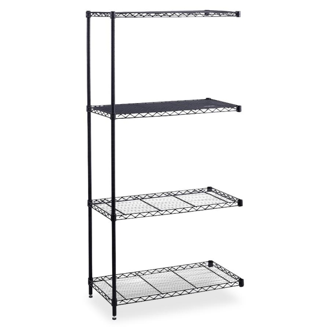 Safco Safco Industrial Wire Shelving Add-On Unit 5289BL SAF5289BL