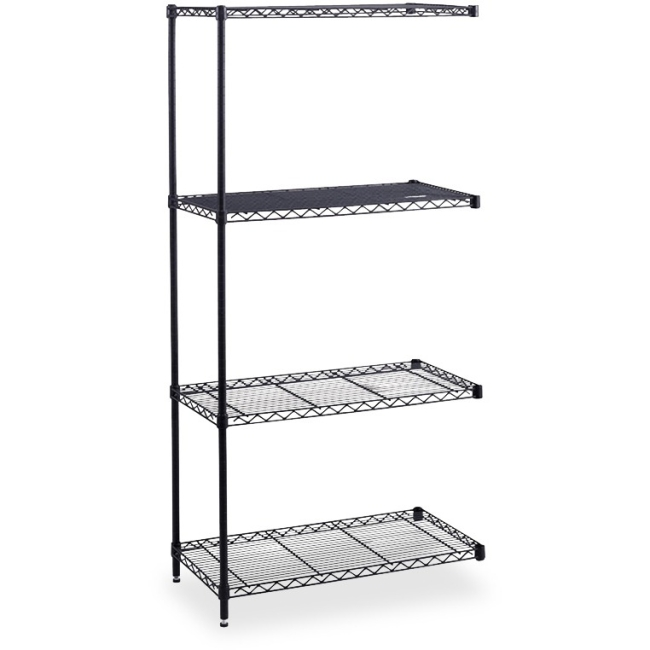 Safco Safco Industrial Wire Shelving Add-On Unit 5295BL SAF5295BL