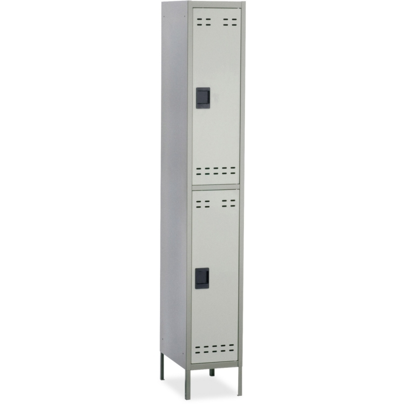 Safco Safco Double-Tier Two-tone Locker with legs 5523GR SAF5523GR