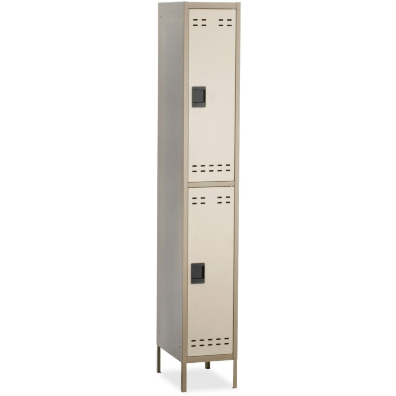 Safco Safco Double-Tier Two-tone Locker with legs 5523TN SAF5523TN