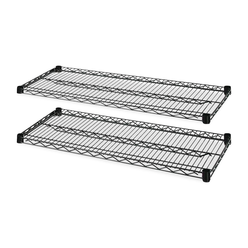 Lorell 4-Tier Wire Rack with Shelves 69139 LLR69139
