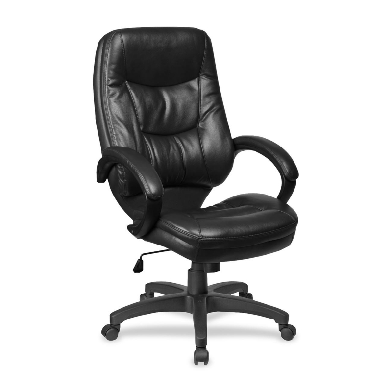 alera veon series executive highback leather chair coil spring