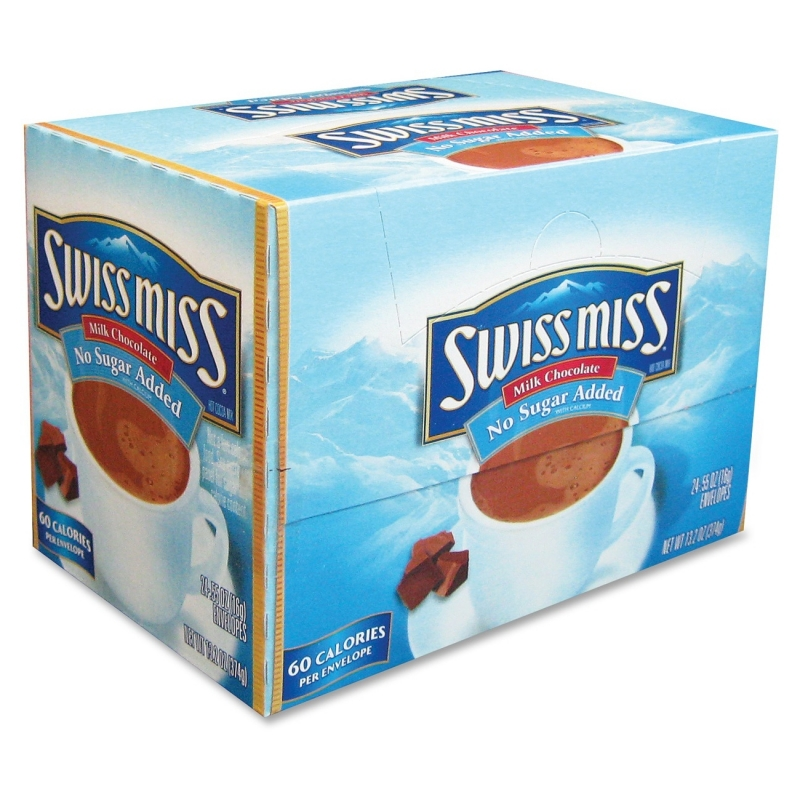 Swiss Miss No Sugar Added Hot Choc. Mix HUN55584 CNGHUN55584