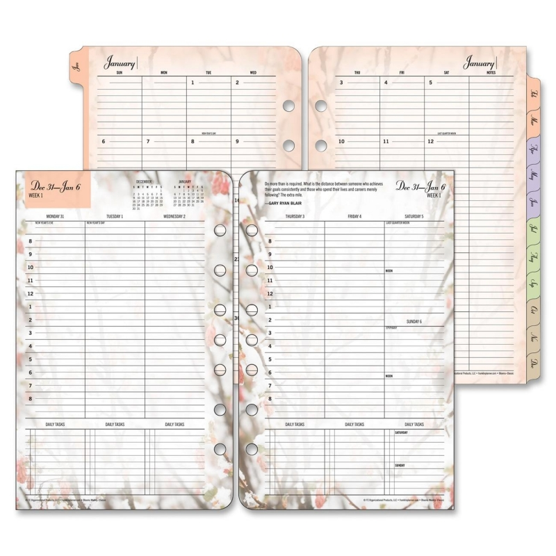 Franklin Covey Blooms Planner Refill 35448 FDP35448