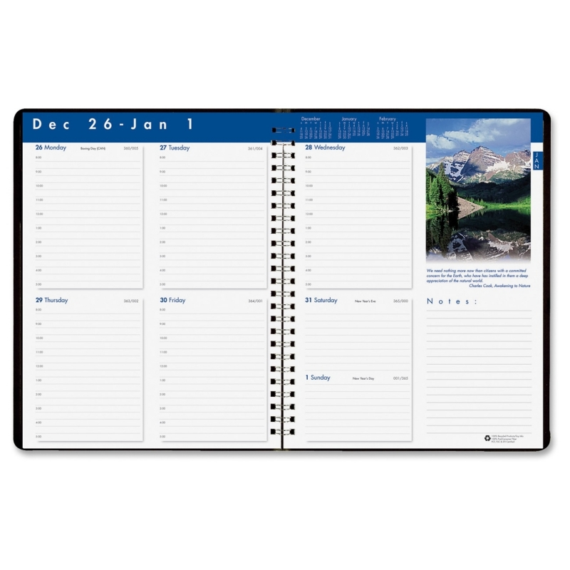 House of Doolittle Earthscapes Weekly Planner 27902 HOD27902