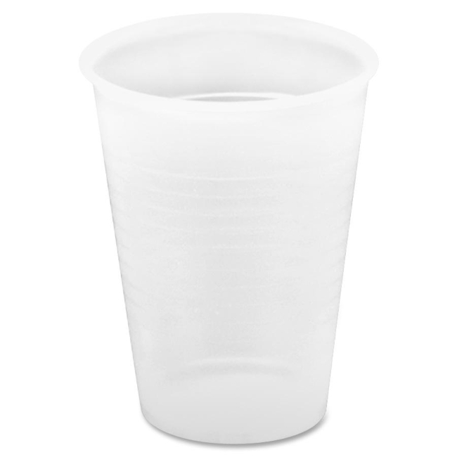 Genuine Joe Translucent Plastic Beverage Cup 10435 GJO10435