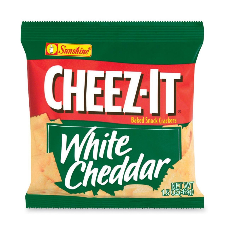 Sunshine Cheez-It White Cheddar Cracker 12653 KEB12653