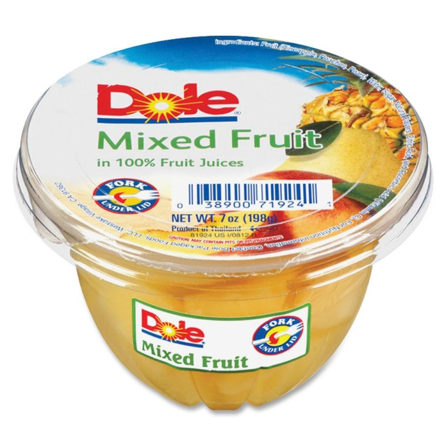 Dole Mixed Fruit Cup 71924 DFC71924