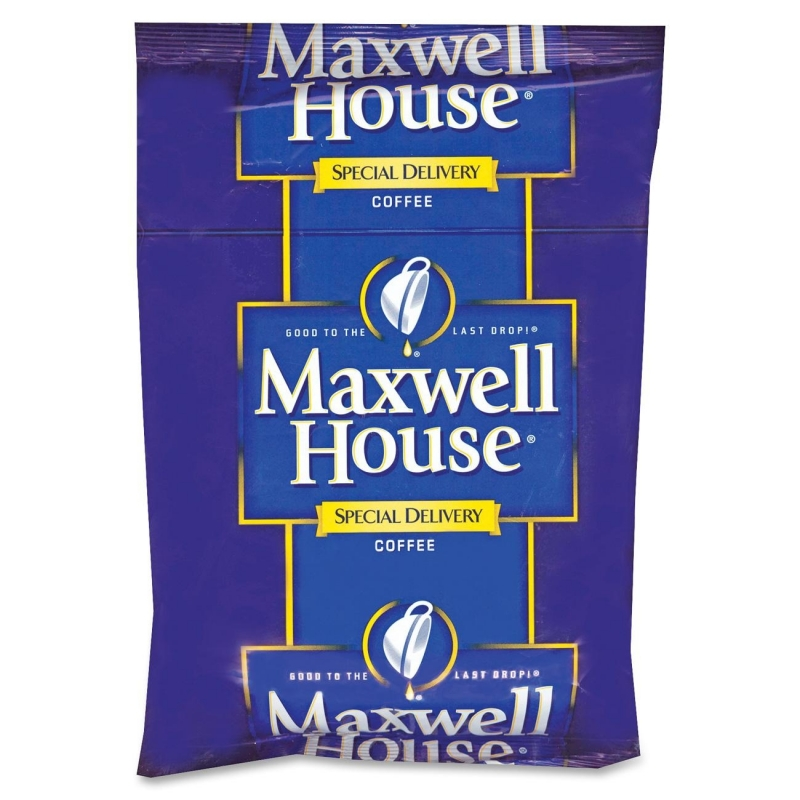 Maxwell House Circular Filter Packs Coffee GEN862400 KRFGEN862400
