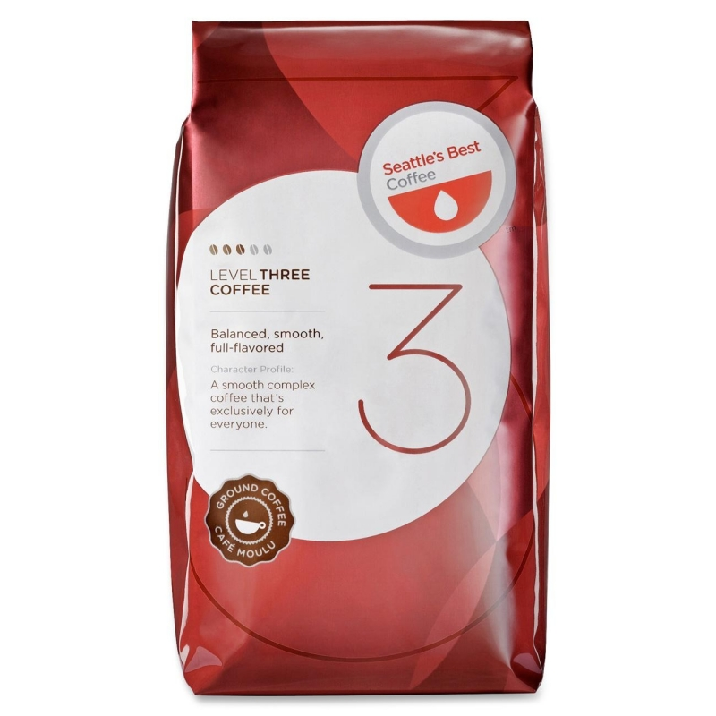 Seattle's Best Coffee Level 3 Best Blend Ground Coffee 11008569 SEA11008569