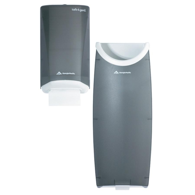 Georgia-Pacific Safe-T-Gard Door Tissue Dispenser and Trash Receptacle 59513 GPC59513