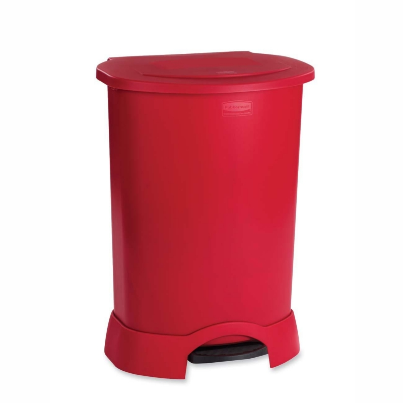 Rubbermaid Step-on Container 6147RD RCP6147RD