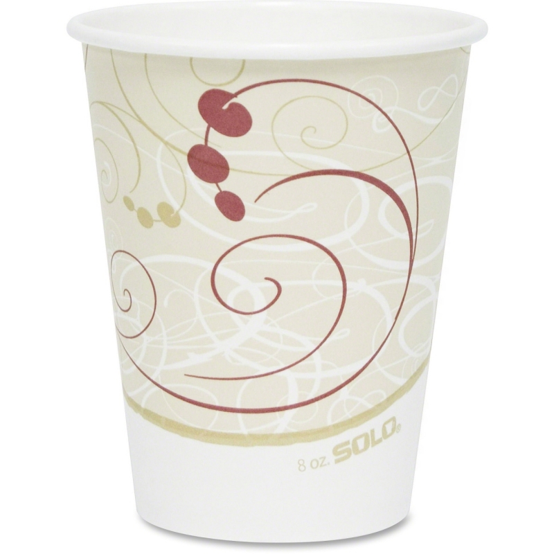 Solo Single-sided Poly Hot Cups 378SMJ8000CT SCC378SMJ8000CT