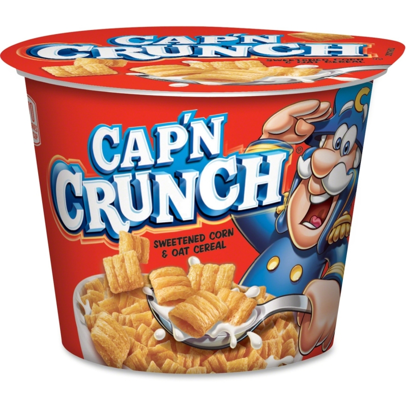 Quaker Oats Cap'N Crunch Corn/Oat Cereal Bowl 31597 QKR31597