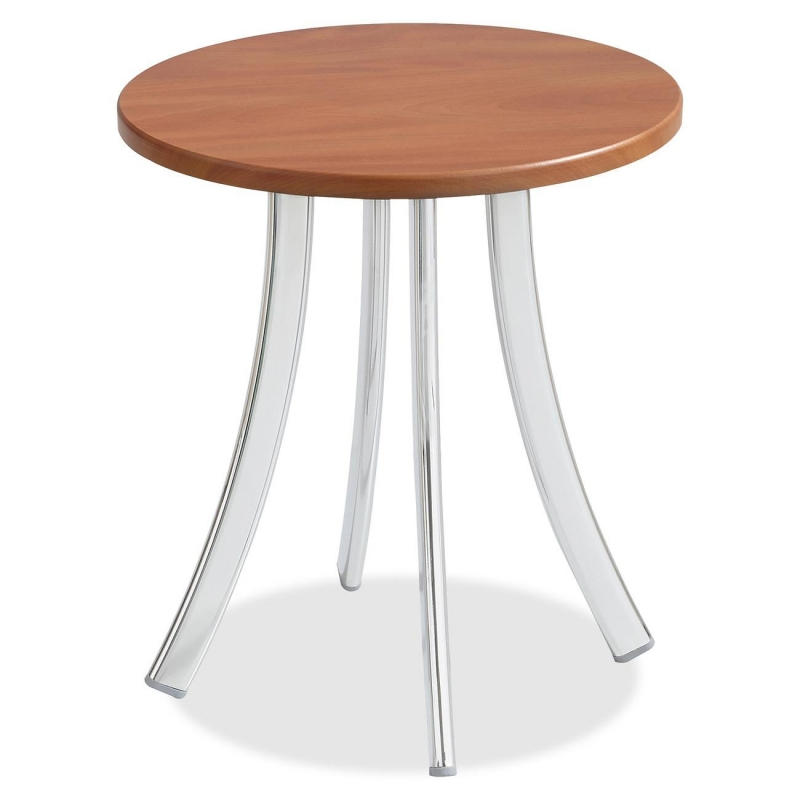 Safco Decori Wood Side Table, Short 5098CY SAF5098CY 5098