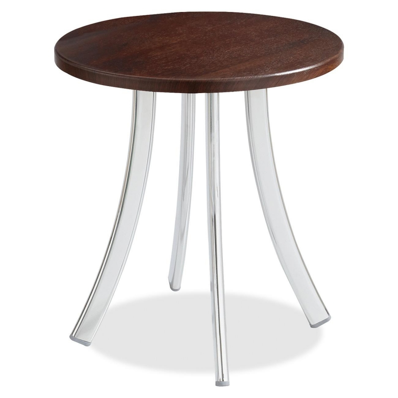 Safco Decori Wood Side Table, Short 5098MH SAF5098MH 5098
