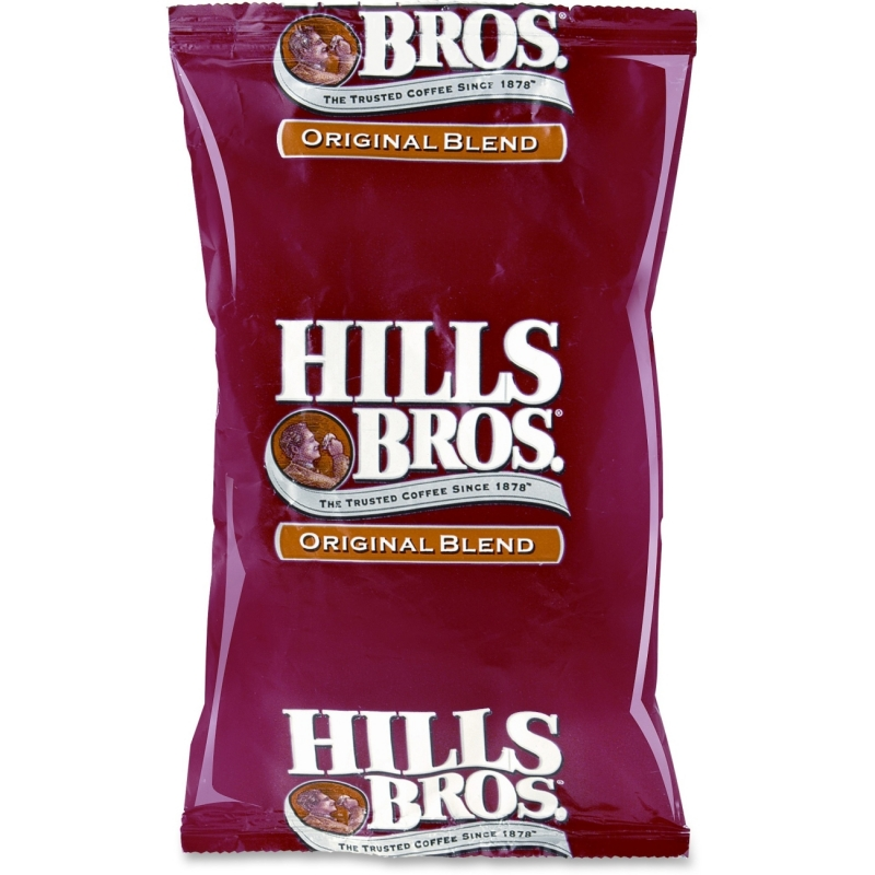 Office Snax Hill Bros. Original Blend Coffee Ground 01084 OFX01084