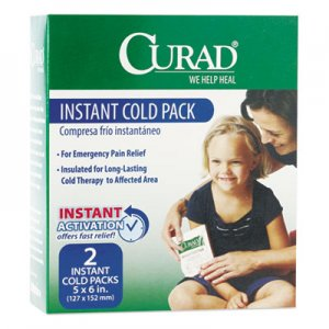 Curad Instant Cold Pack, 2/Box MIICUR961R CUR961R