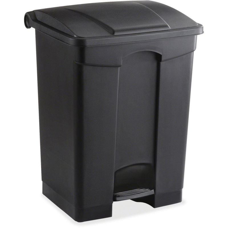 Safco Plastic Step-on Receptable 9922BL SAF9922BL