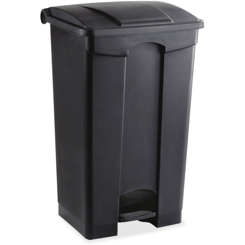 Safco Plastic Step-on Receptable 9923BL SAF9923BL