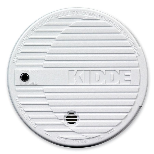 Kidde Battery Powered Fire Smoke Alarm 440374 KID440374 0915K