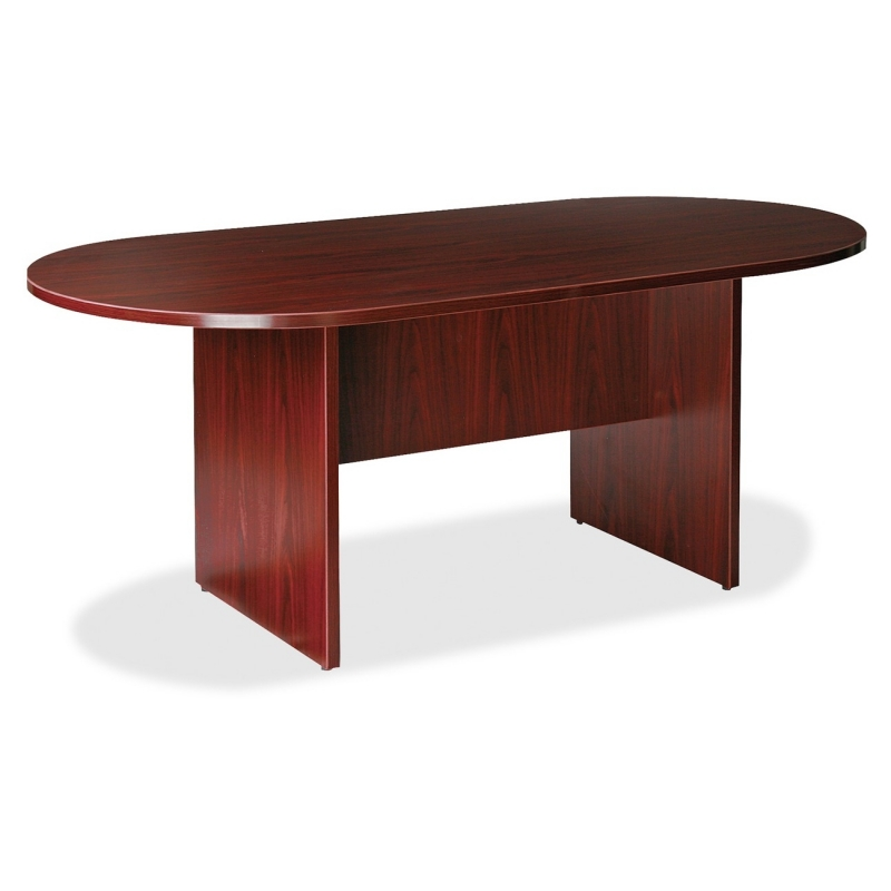 Lorell Essentials Oval Conference Table 87272 LLR87272