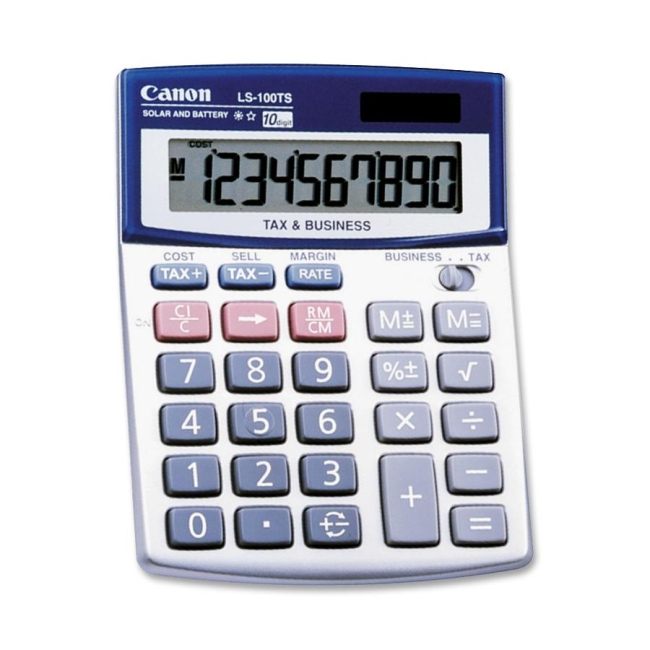 Canon G Mini-desktop Calculator LS100TS CNMLS100TS LS-100TS