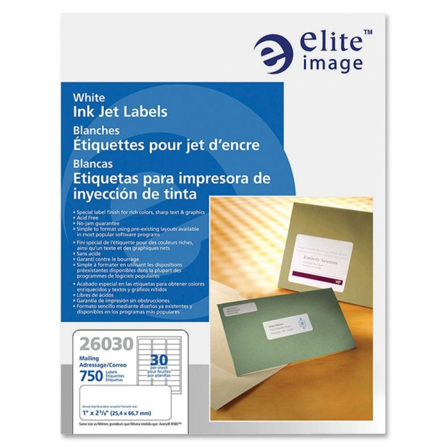 Elite Image Address Label 26030 ELI26030