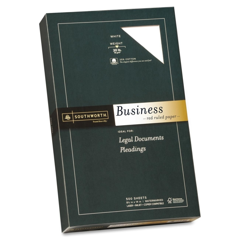 Southworth Red Ruled Business Paper 403ER SOU403ER