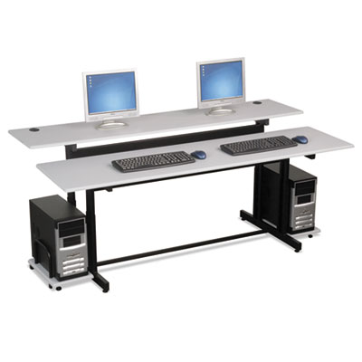 BALT Split-Level Computer Training Table Top, 72 x 36, (Box One) BLT83080 83080