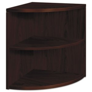 HON 10500 Series Two-Shelf End Cap Bookshelf, 24w x 24d x 29-1/2h, Mahogany HON105520NN H105520.NN