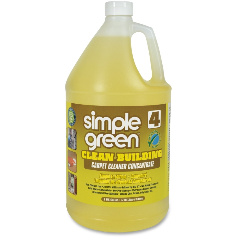 Simple Green Clean Building Carpet Cleaner Concentrate 11201 SMP11201