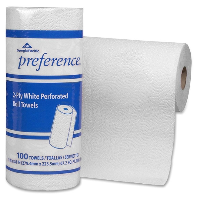 Georgia-Pacific Preference Perforated Roll Towel 27300CT GPC27300CT