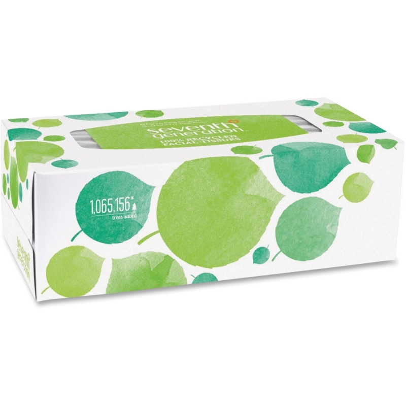 Seventh Generation 100% Recycled Facial Tissues 13712 SEV13712 36FT175