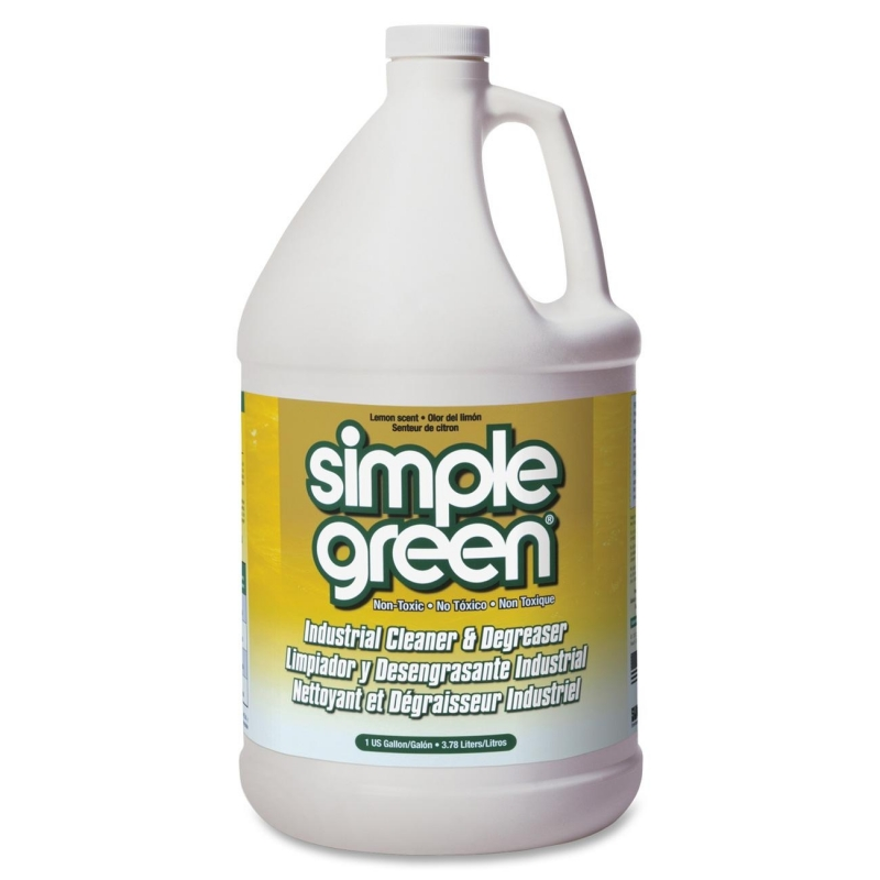 Simple Green Industrial Cleaner and Degreaser - Lemon Scent 14010 SMP14010