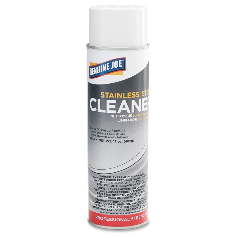 Genuine Joe Stainless Steel Cleaner and Polish 02114 GJO02114