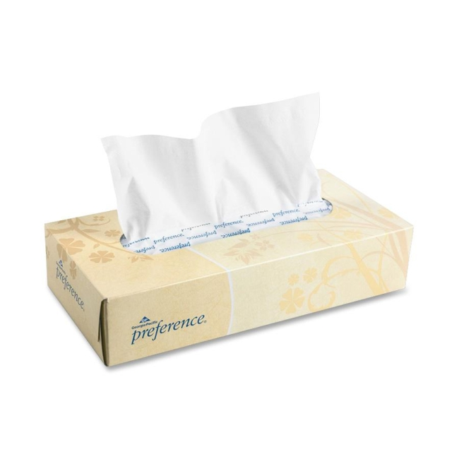 Georgia-Pacific Preference Facial Tissue 48100BX GPC48100BX