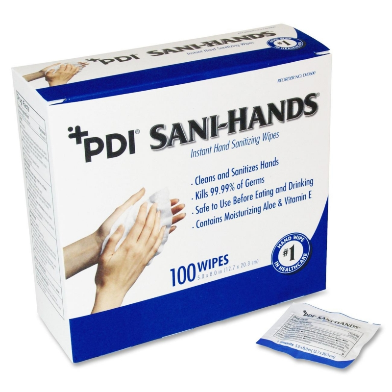 Sani-Hands Individual Packets Hand Wipes PSDP077600 NICPSDP077600