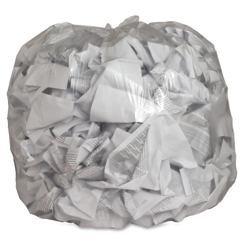 Genuine Joe Clear Trash Can Liners 01015 GJO01015