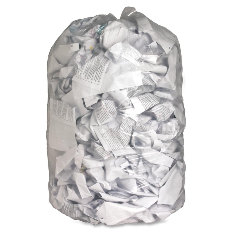Genuine Joe Clear Trash Can Liners 01014 GJO01014