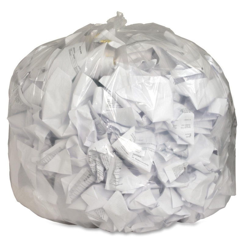 Genuine Joe Clear Trash Can Liners 01016 GJO01016