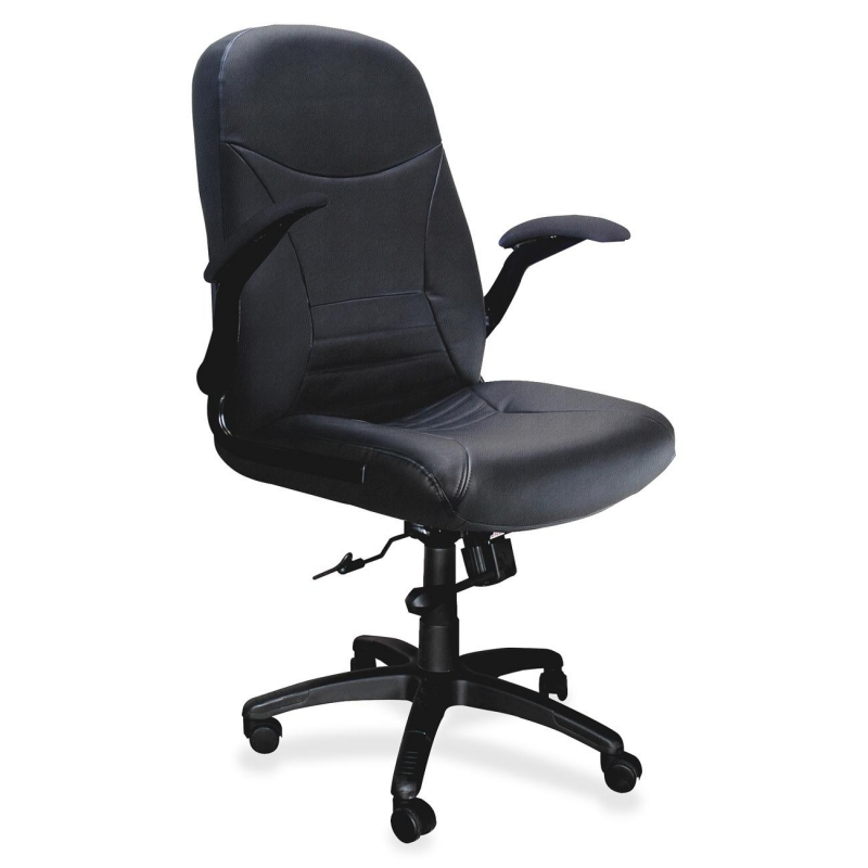 Mayline Mayline Comfort Big & Tall 6446AG Executive Chair with Pivot Arms 6446AGBLT MLN6446AGBLT 6446AG