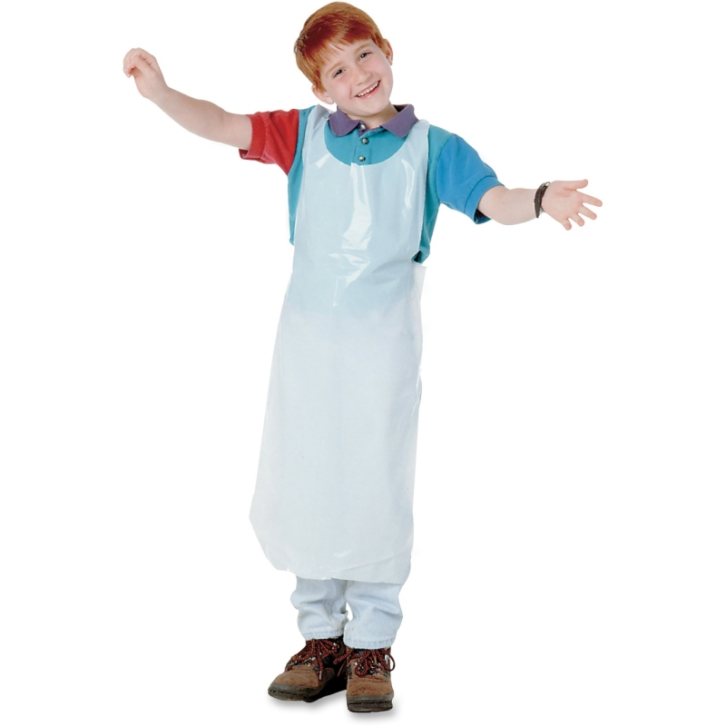 Baumgartens Kids Disposable Apron 64620 BAU64620