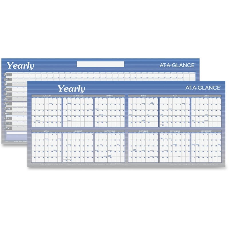 At-A-Glance At-A-Glance Large Dated Yearly Planner A177 AAGA177