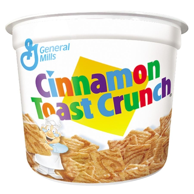 Advantus Advantus Cinnamon Toast Crunch Cereal-In-A-Cup SN13897 AVTSN13897